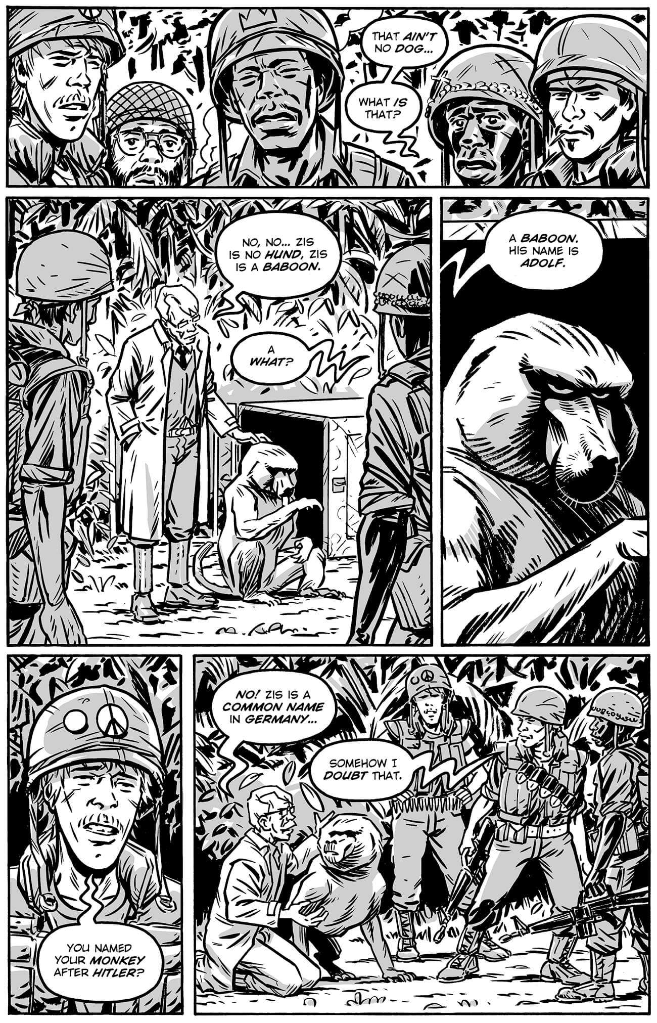 guerillas by brahm revel, page 104