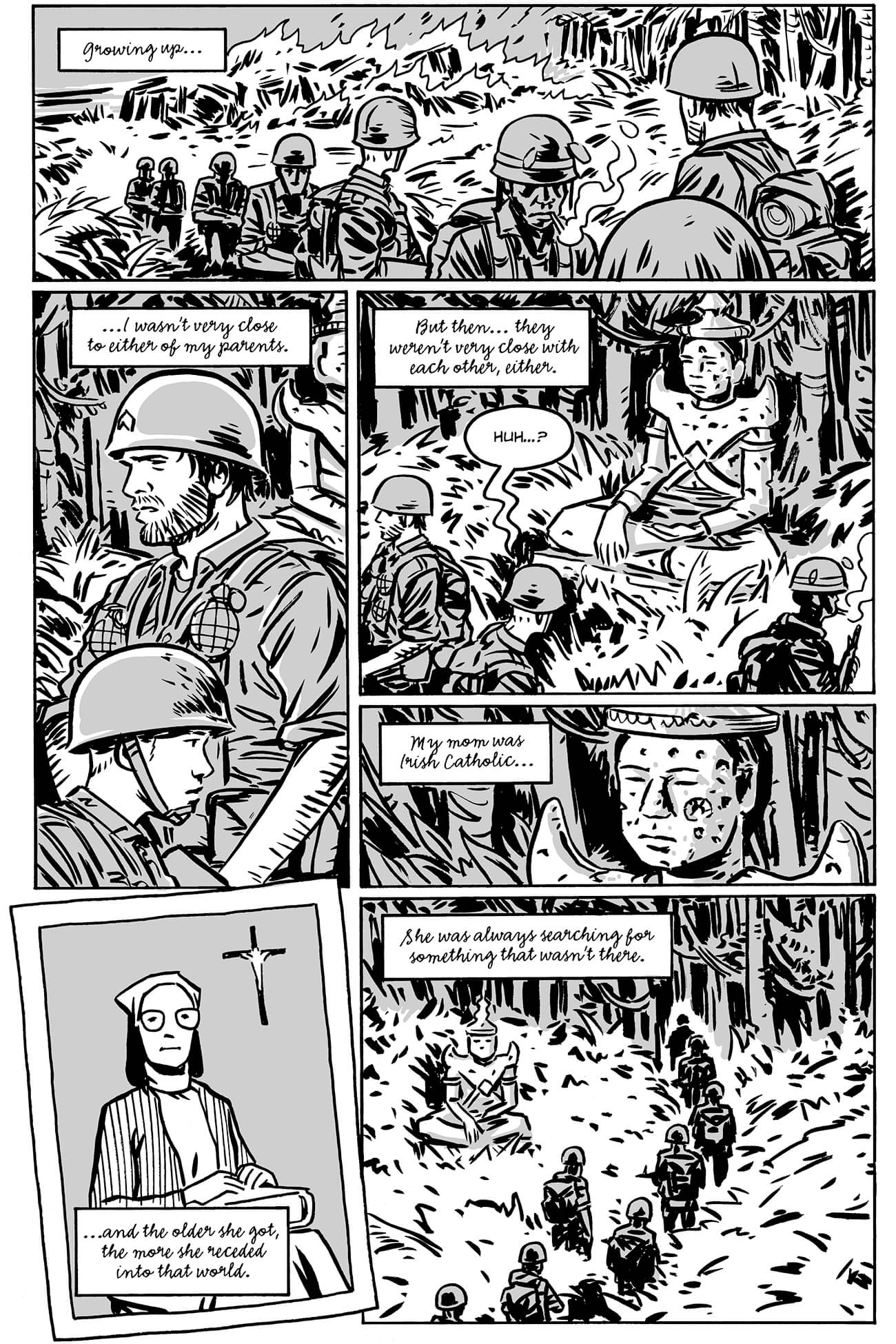 guerillas by brahm revel, page 8