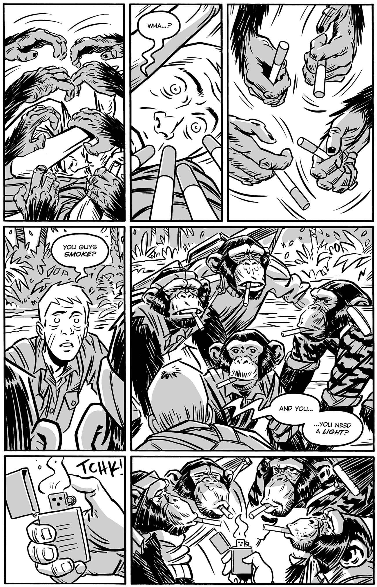 guerillas by brahm revel, page 84